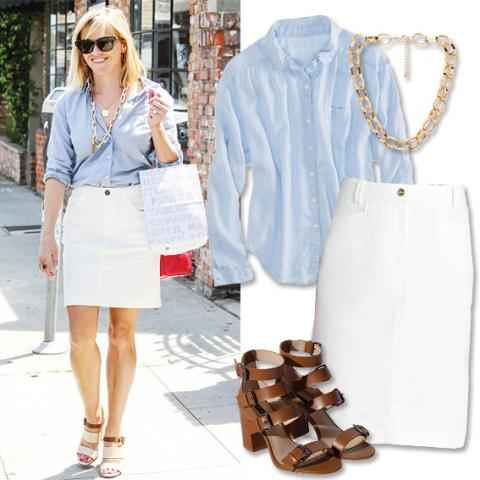 Reese Witherspoon - Summer Work Outfits