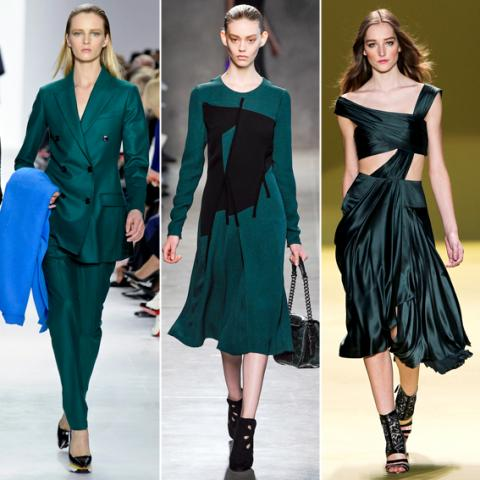 Fall and Winter trends: Emerald