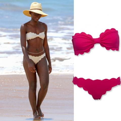 Celebrity Inspired Swim: Lupita Nyong'o