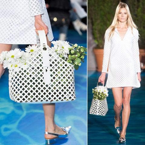 Basket Bags: Tory Burch