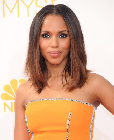 Kerry Washington beauty looks