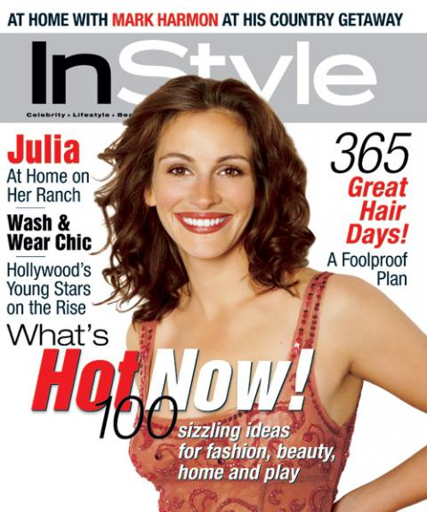 instyle magazine covers 2000. Black Bedroom Furniture Sets. Home Design Ideas