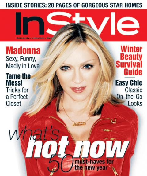 InStyle Covers - Madonna
