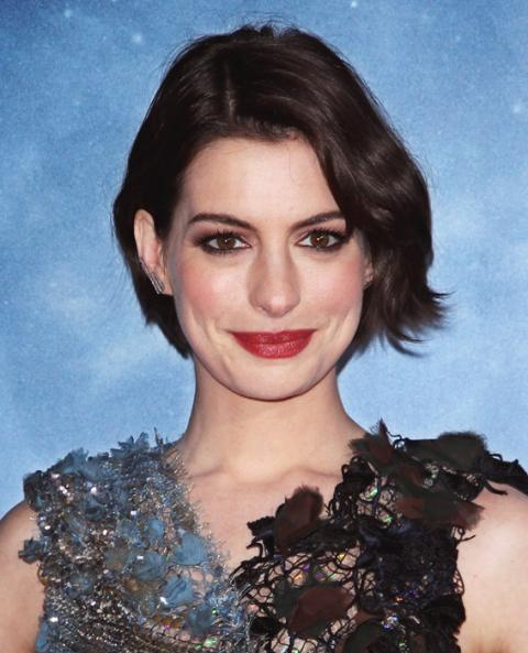 Anne Hathaway College: Anne Hathaway's Changing Looks