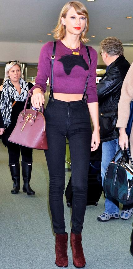 Taylor Swift - airport style