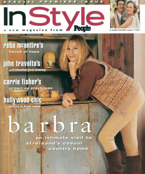 InStyle Covers - June 1994, Barbra Streisand