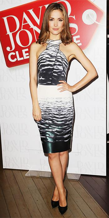 Rose Byrne in Dion Lee