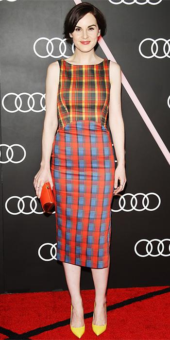 Michelle Dockery in Altuzarra