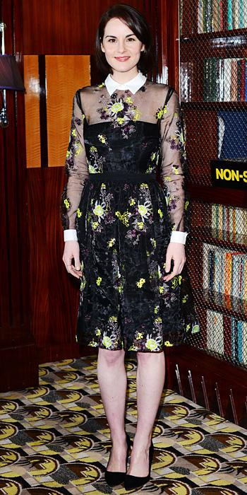 Michelle Dockery in Erdem
