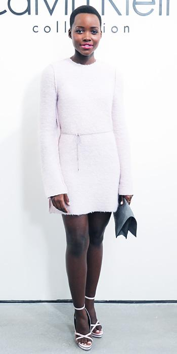 Lupita Nyong'o in Calvin Klein Collection