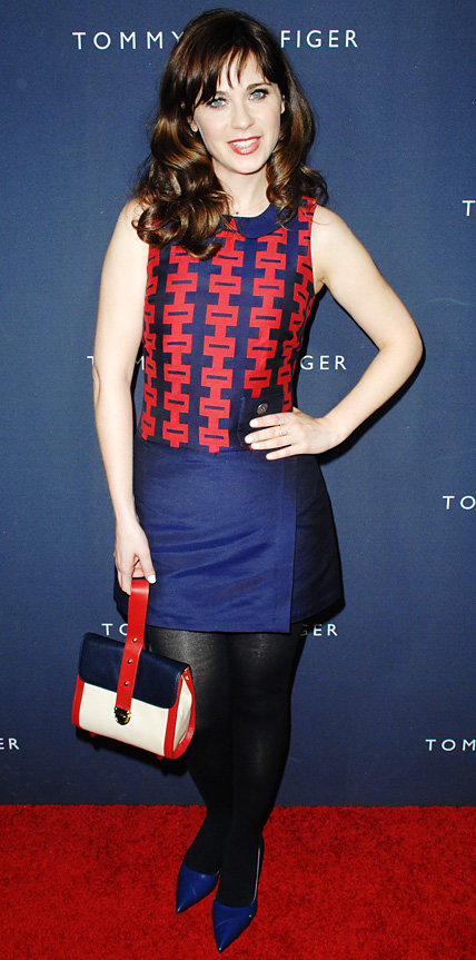 Zooey Deschanel in Zooey Deschanel x Tommy Hilfiger