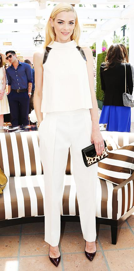 Jaime King in Carolina Herrera