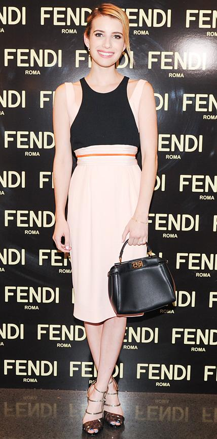 Emma Roberts in Fendi