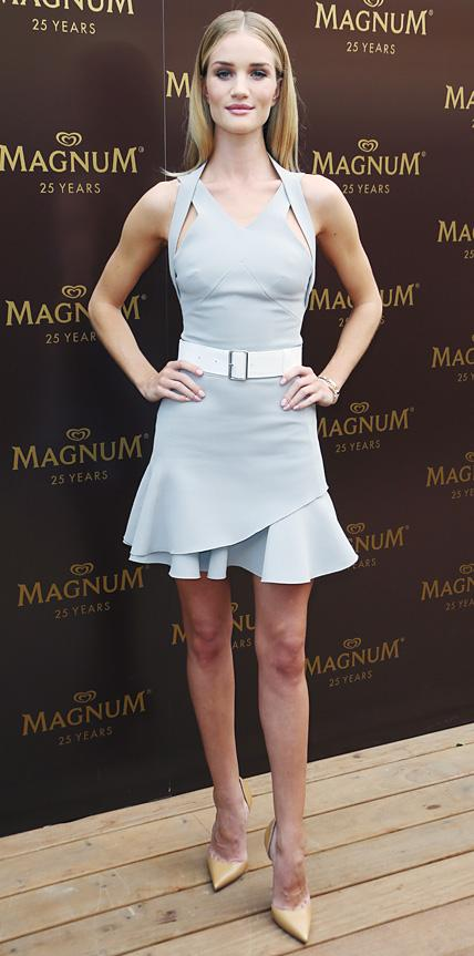 Rosie Huntington-Whiteley in Victoria Beckham