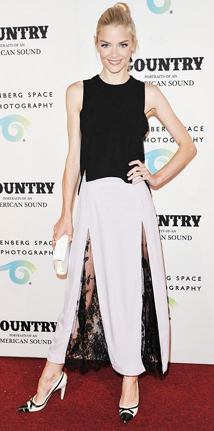Jaime King in Wes Gordon & Monica Rose for Lovers + Friends