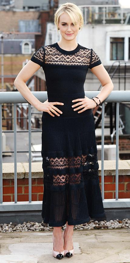 Taylor Schilling in Vionnet