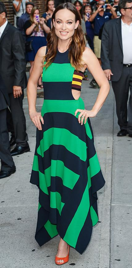 Olivia Wilde in Stella McCartney