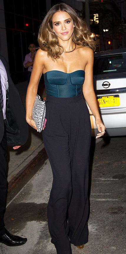 Jessica Alba in Chris Gelinas and Max Mara