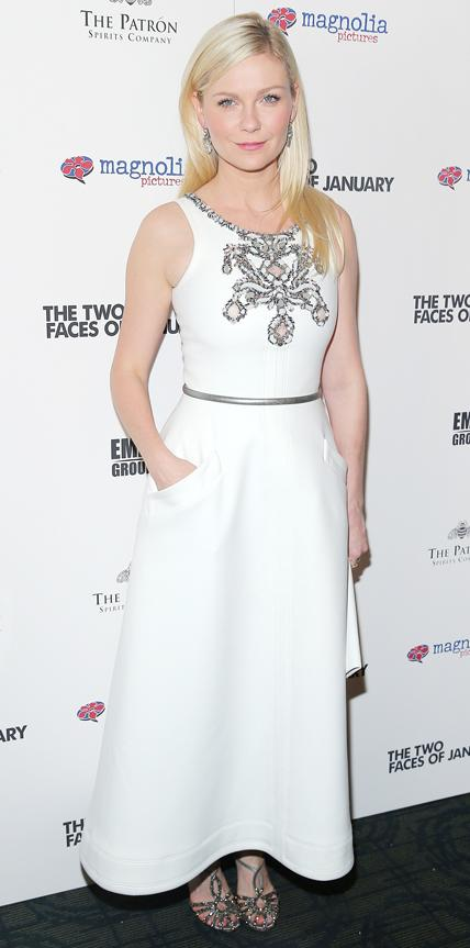 Kirsten Dunst in Chanel Couture