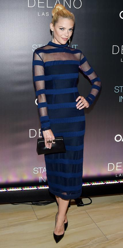 Jaime King in Charlotte Ronson