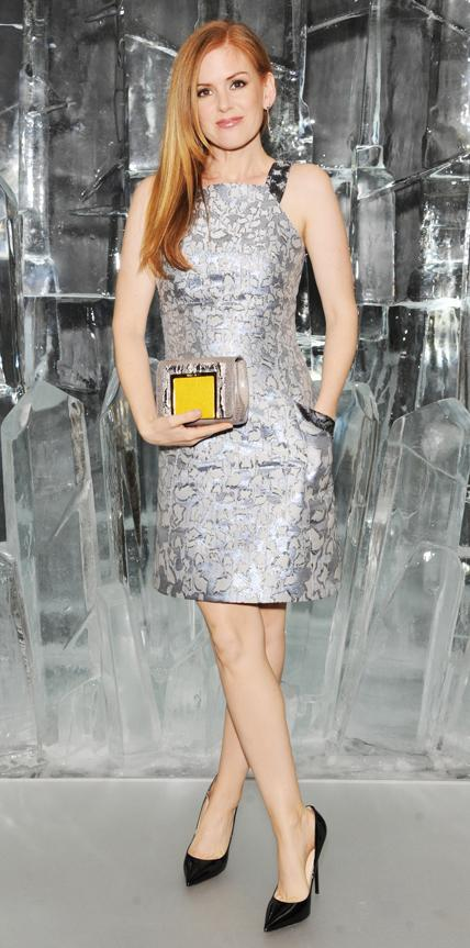 Isla Fisher in Mary Katrantzou
