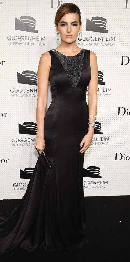 Camilla Belle in Dior