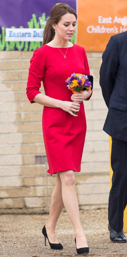 Kate Middleton in Katherine Hooker