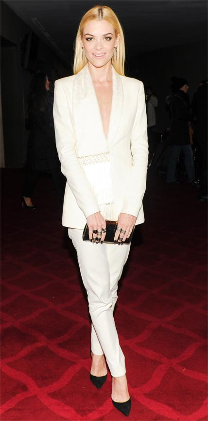 Jaime King in Altuzarra