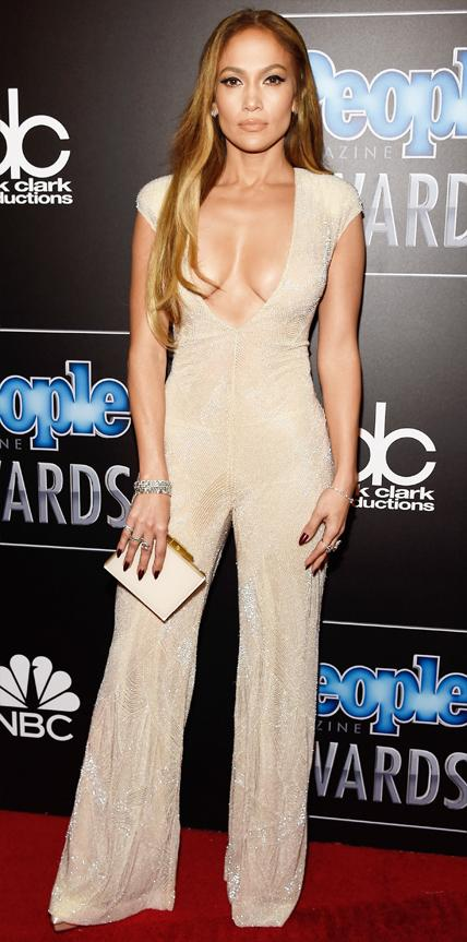 Jennifer Lopez in Naeem Khan