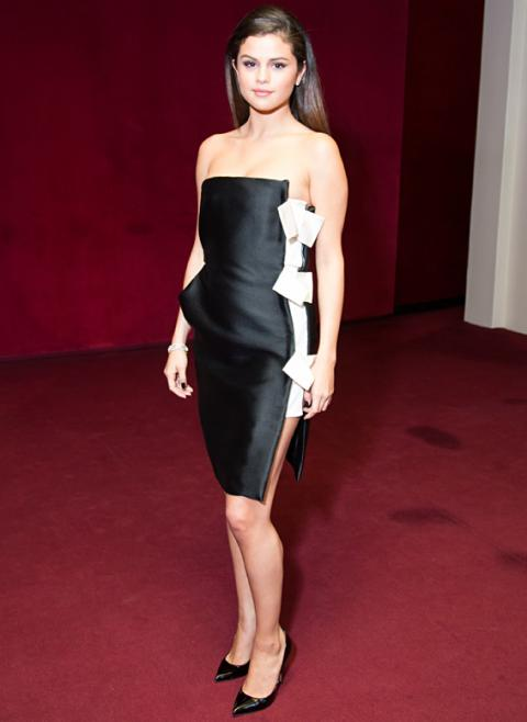 Selena Gomez at InStyle's American Ballet Theatre's spring gala cocktails