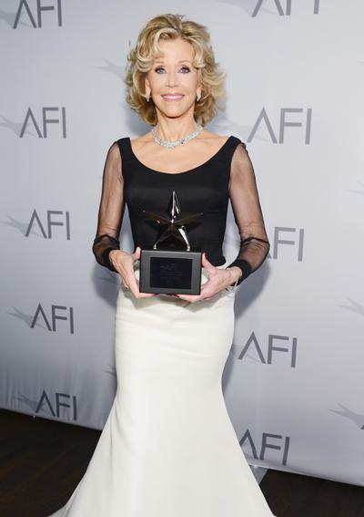 Jane Fonda attends the 2014 AFI Life Achievement Award: A Tribute to Jane Fonda