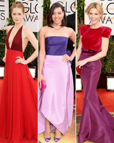 Golden Globes Trend: Two-Tone