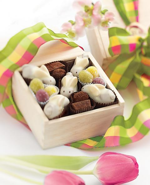Burdick Chocolate Bunny Box