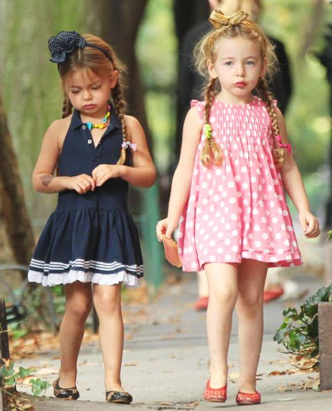 Sarah Jessica Parker's twins Tabitha and Marion Broderick