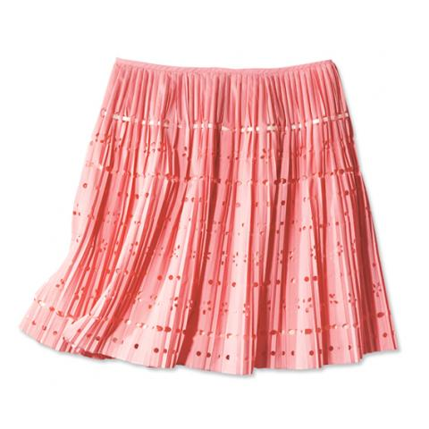 Pink Moschino Cheap and Chic pleated skirt