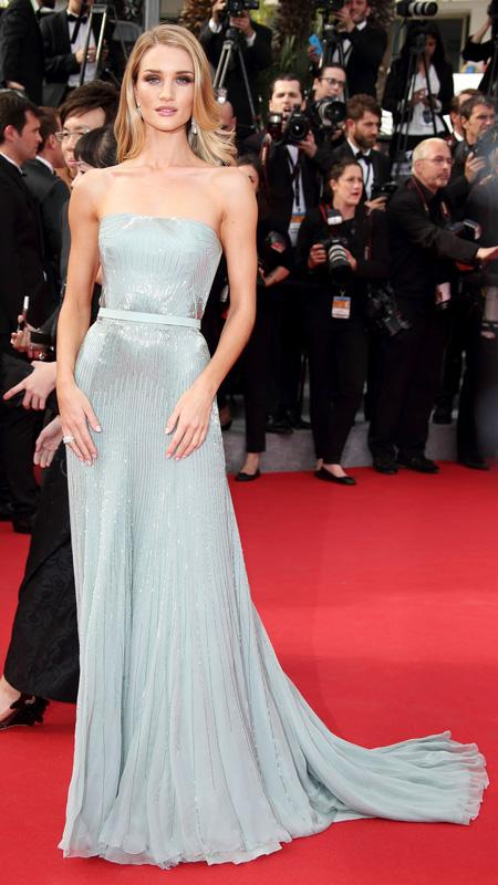 The best of the 2014 cannes film festival red carpet - Silver red carpet dresses ...