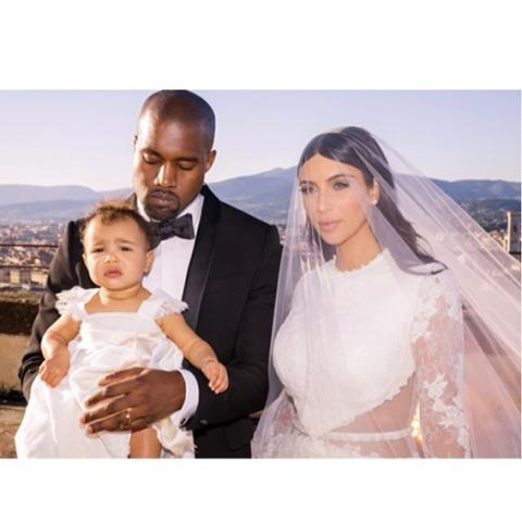 Kim Kardashian, Kanye West, wedding