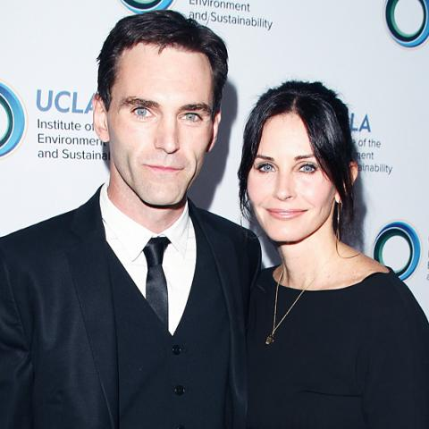 Courtney Cox Engaged