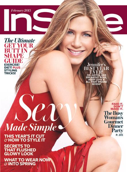 Jenifer Aniston February 2015 InStyle Cover