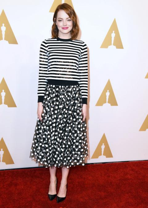 Emma Stone in Michael Kors