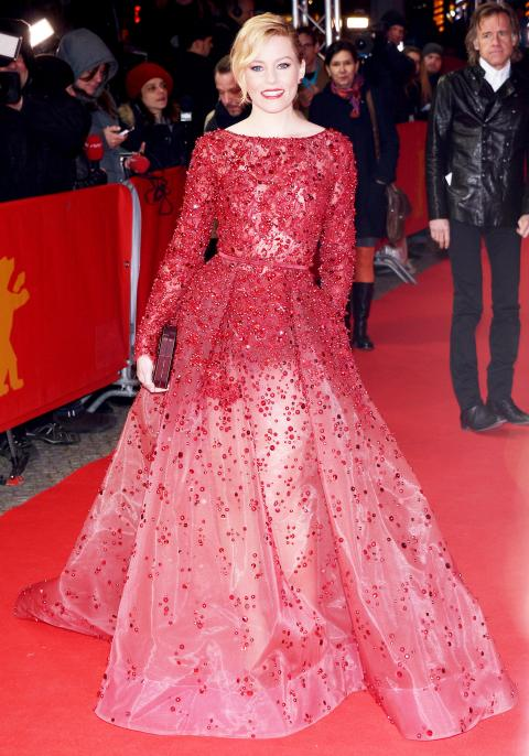 Elizabeth Banks in Elie Saab Haute Couture