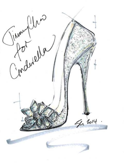Cinderella's Glass Slipper by Jimmy Choo
