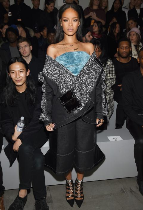 Rihanna in Julia Seeman
