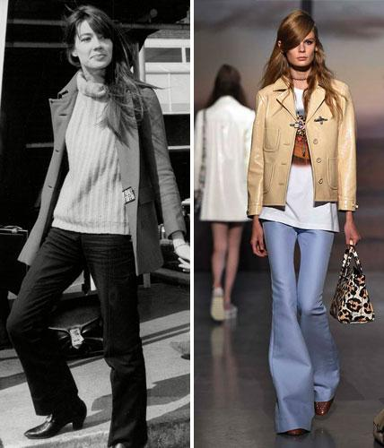 Then and Now: The '70s Trend