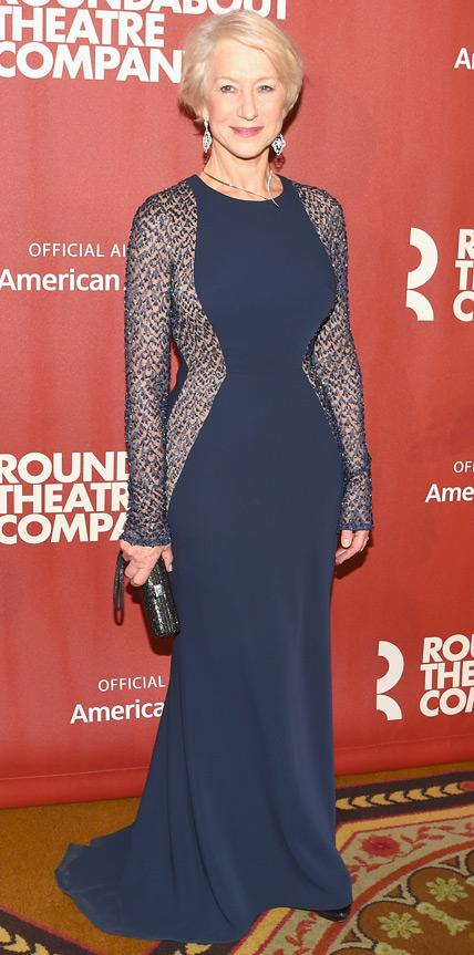 Helen Mirren in Stella McCartney