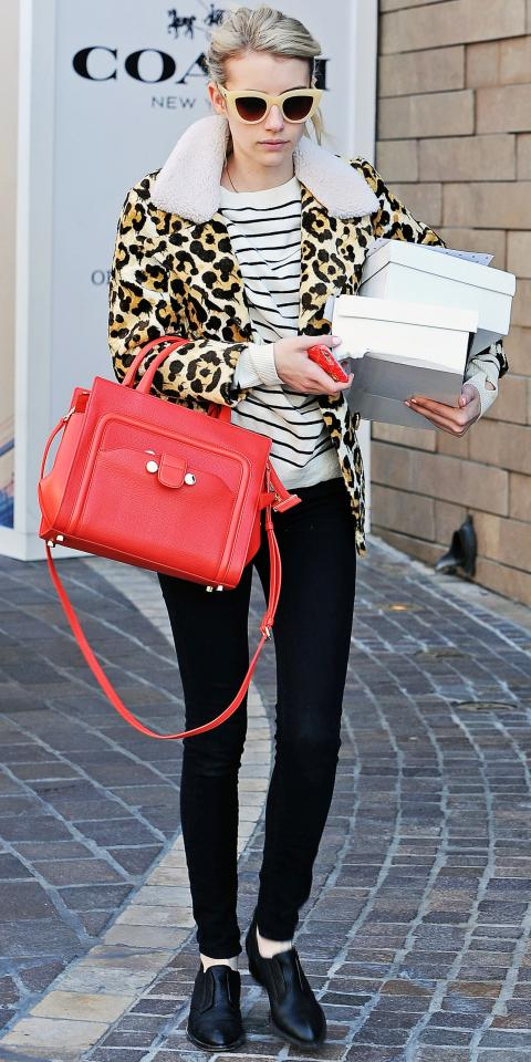Emma Roberts in Pam & Gela and Coach