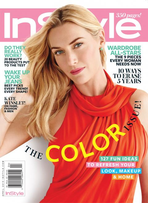Kate Winslet InStyle cover