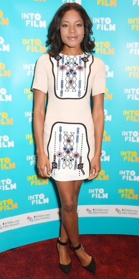 Naomie Harris in Peter Pilotto
