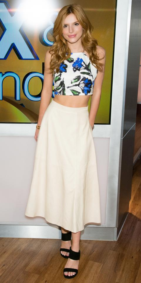 Bella Thorne in Milly and Alice + Olivia
