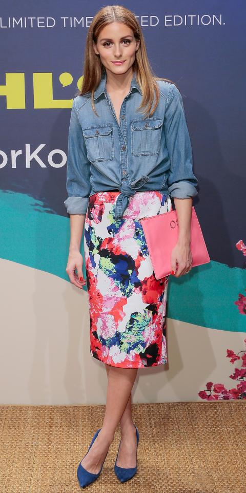 Olivia Palermo in Milly for Kohl's DesigNation
